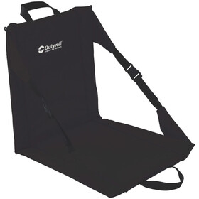 Outwell Cardiel Silla de playa plegable, black